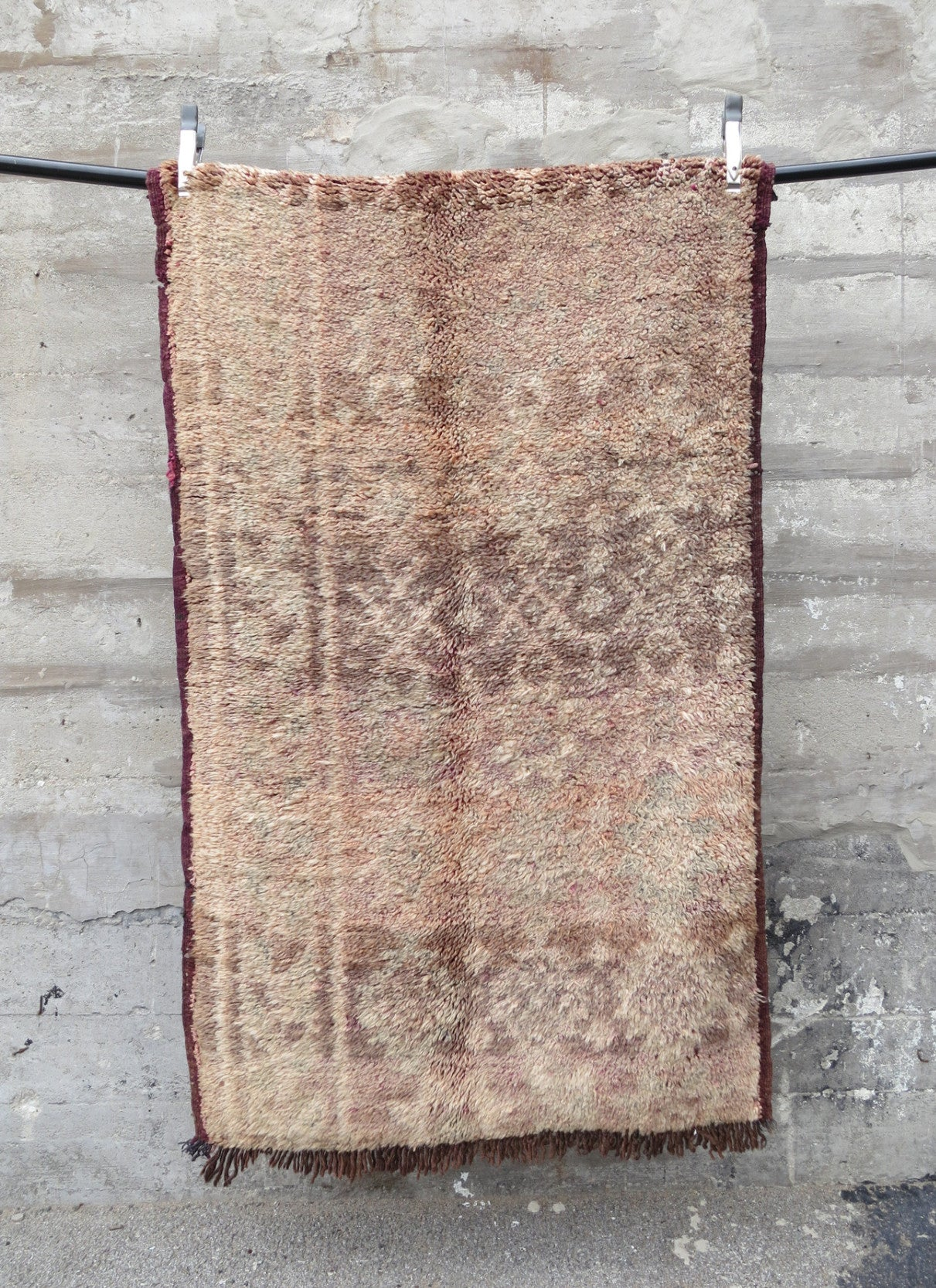 'Tiramisu' Vintage Boujad Rug - Maven Collection