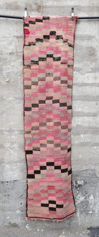 'Checkered Board'  Moroccan Azilal Rug