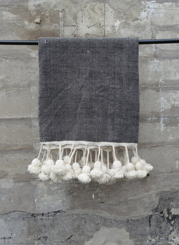 'DR. GREY' BERBER WOOL BLANKET