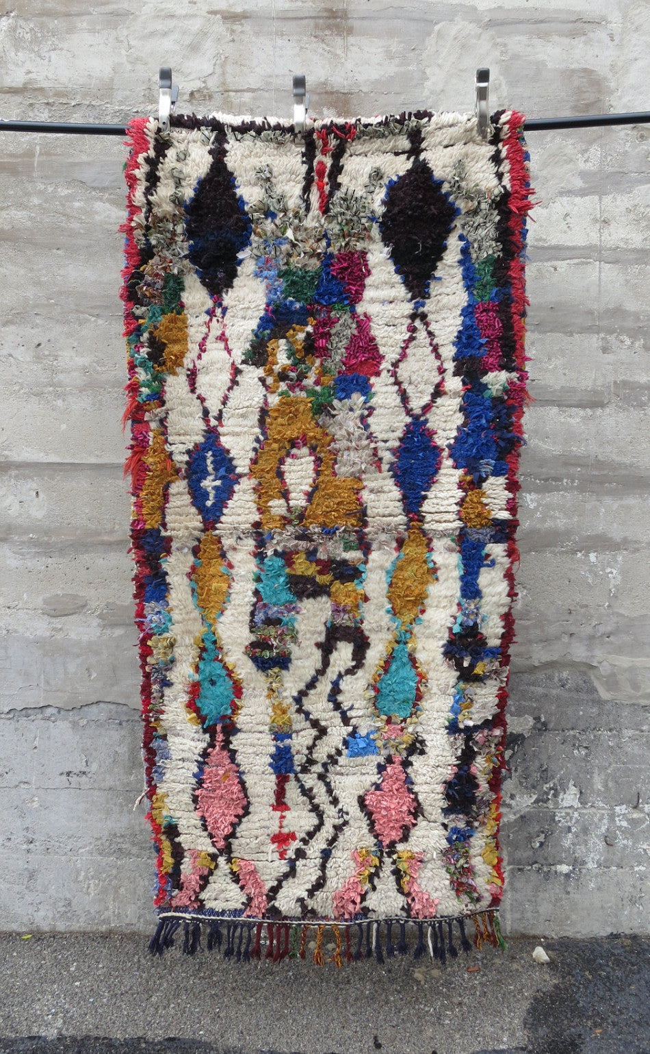 'The Royals' Vintage Boujad Rug - Maven Collection