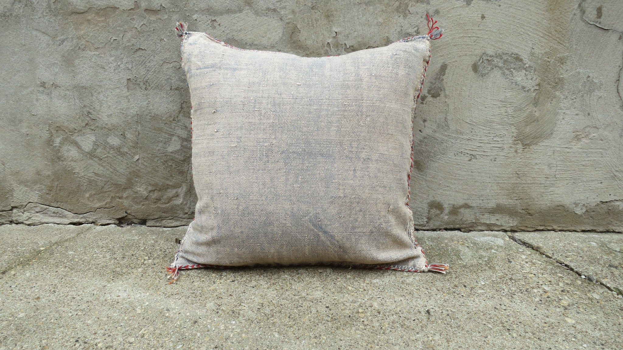 'Emma Rose'  Moroccan Sabra Silk Pillow