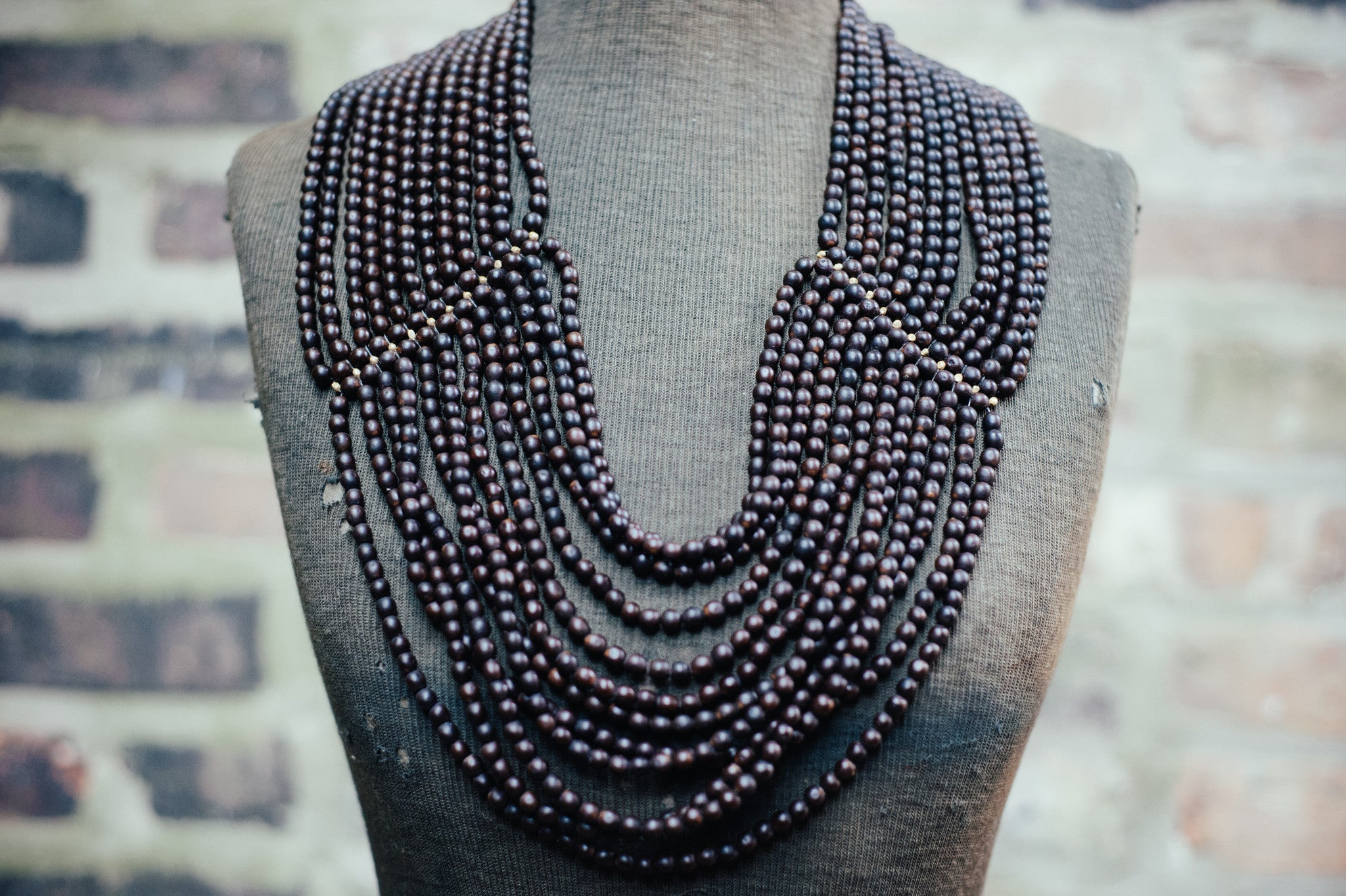 'NANTU WATERFALL' STATEMENT NECKLACE - Maven Collection