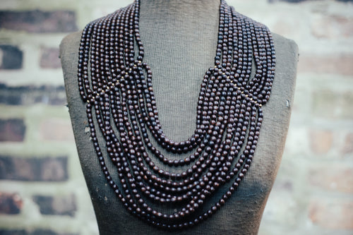 'NANTU WATERFALL' STATEMENT NECKLACE