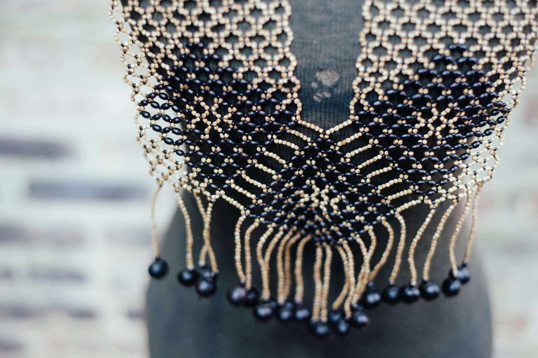 'AWAJUN ENKUPA'  STATEMENT NECKLACE - Maven Collection