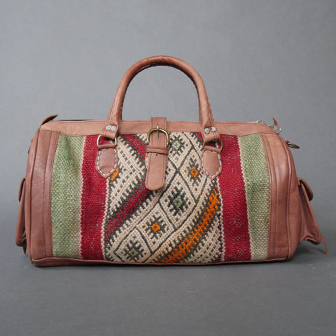 'JET SETTER'  MOROCCAN WEEKEND BAG