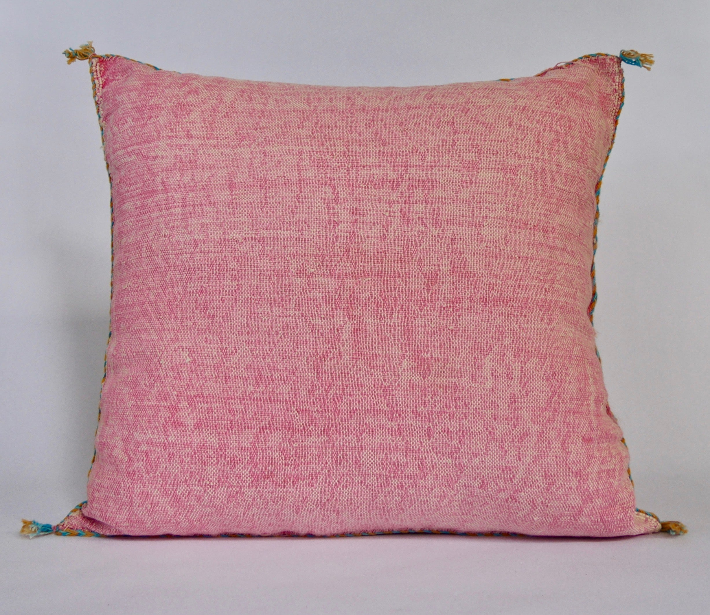 'BLUSH' BERBER WOOL PILLOW