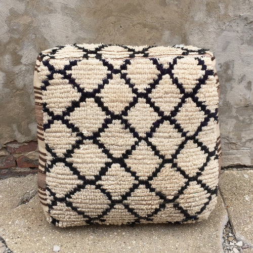'Honeycomb'  Moroccan Floor Pillow - Maven Collection