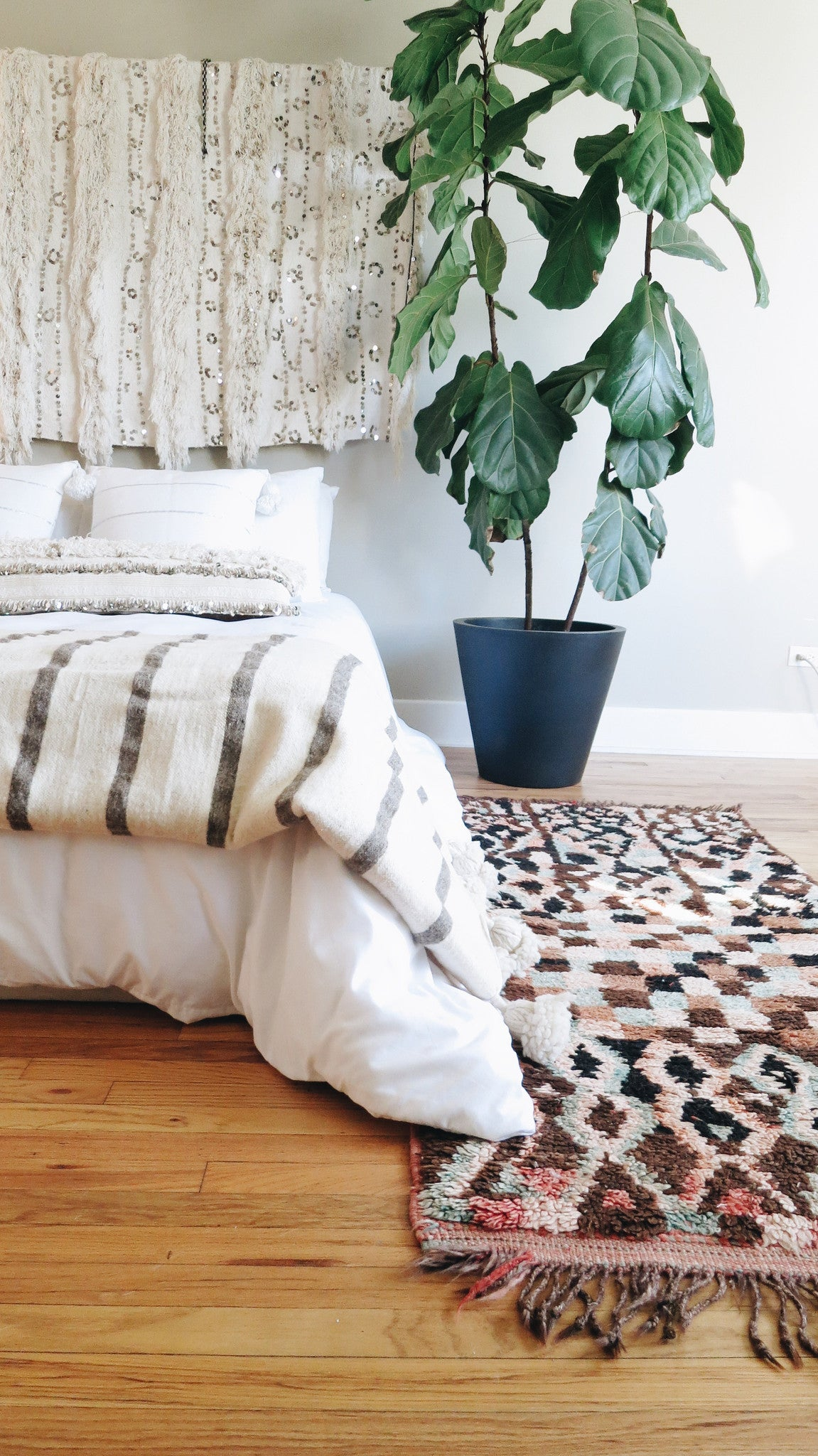 'Rag & Bone' Moroccan Pom Blanket - Maven Collection