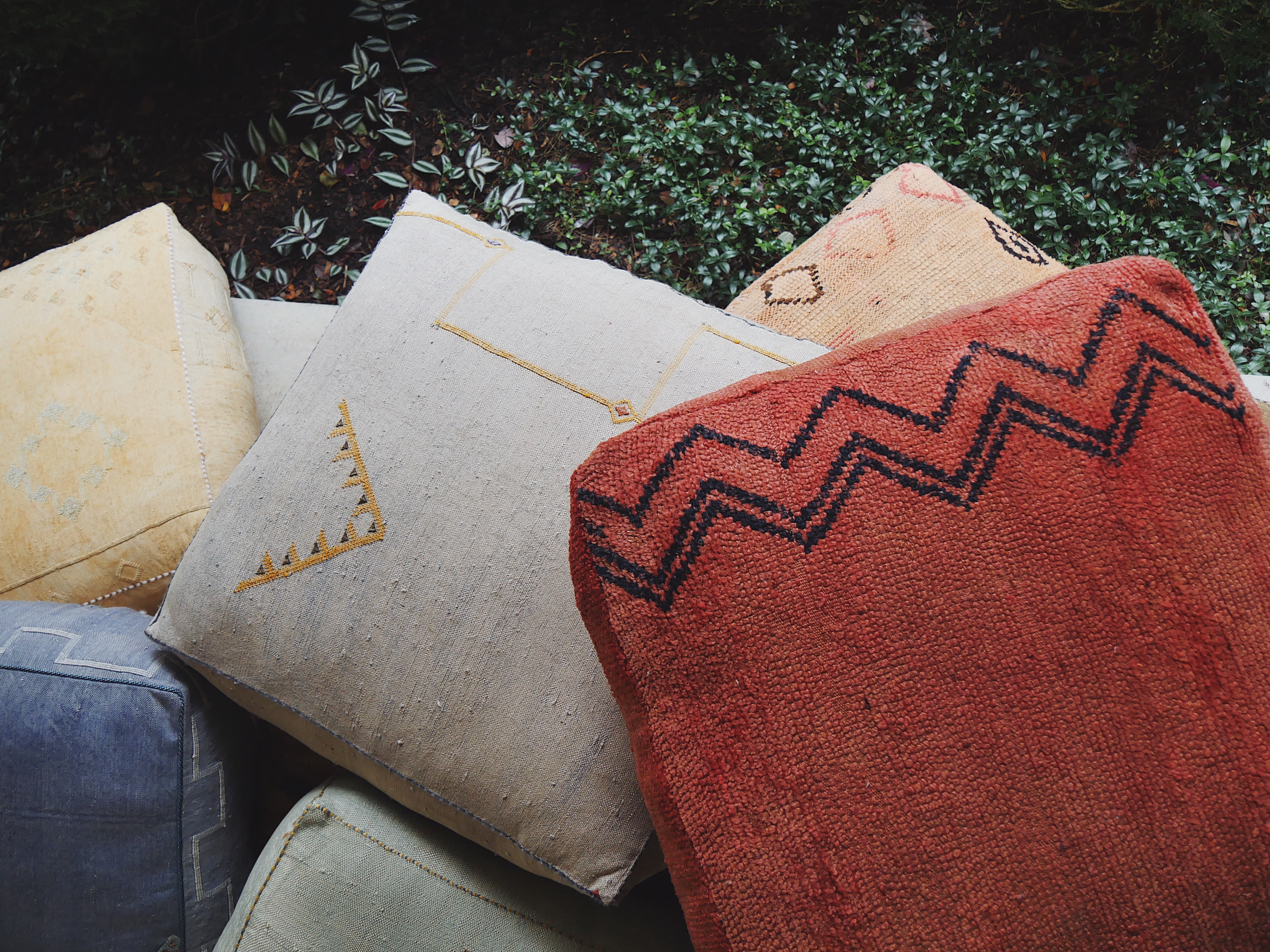 'Dr. Grey' Moroccan Floor Pillow
