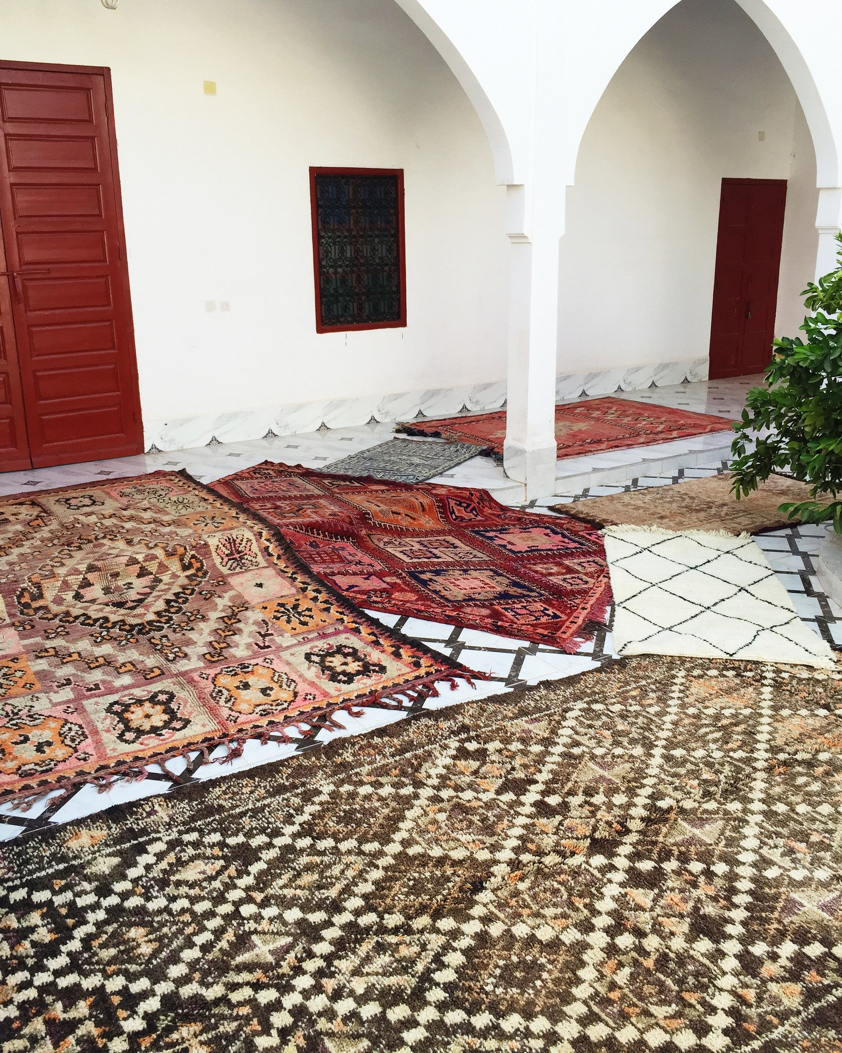 'Félicité' Vintage Boujad Rug - Maven Collection
