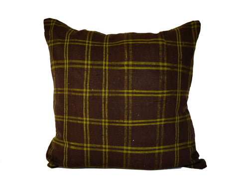 'Umber Strike'  Vintage Haik Pillow