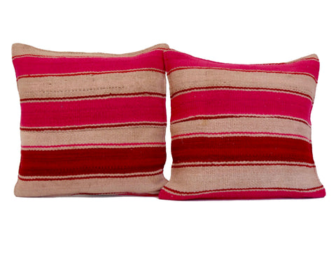 'Chain Reaction'  Moroccan Sabra Silk Pillow