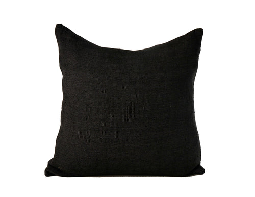 'Black Sabbath' Moroccan Woven Pillow