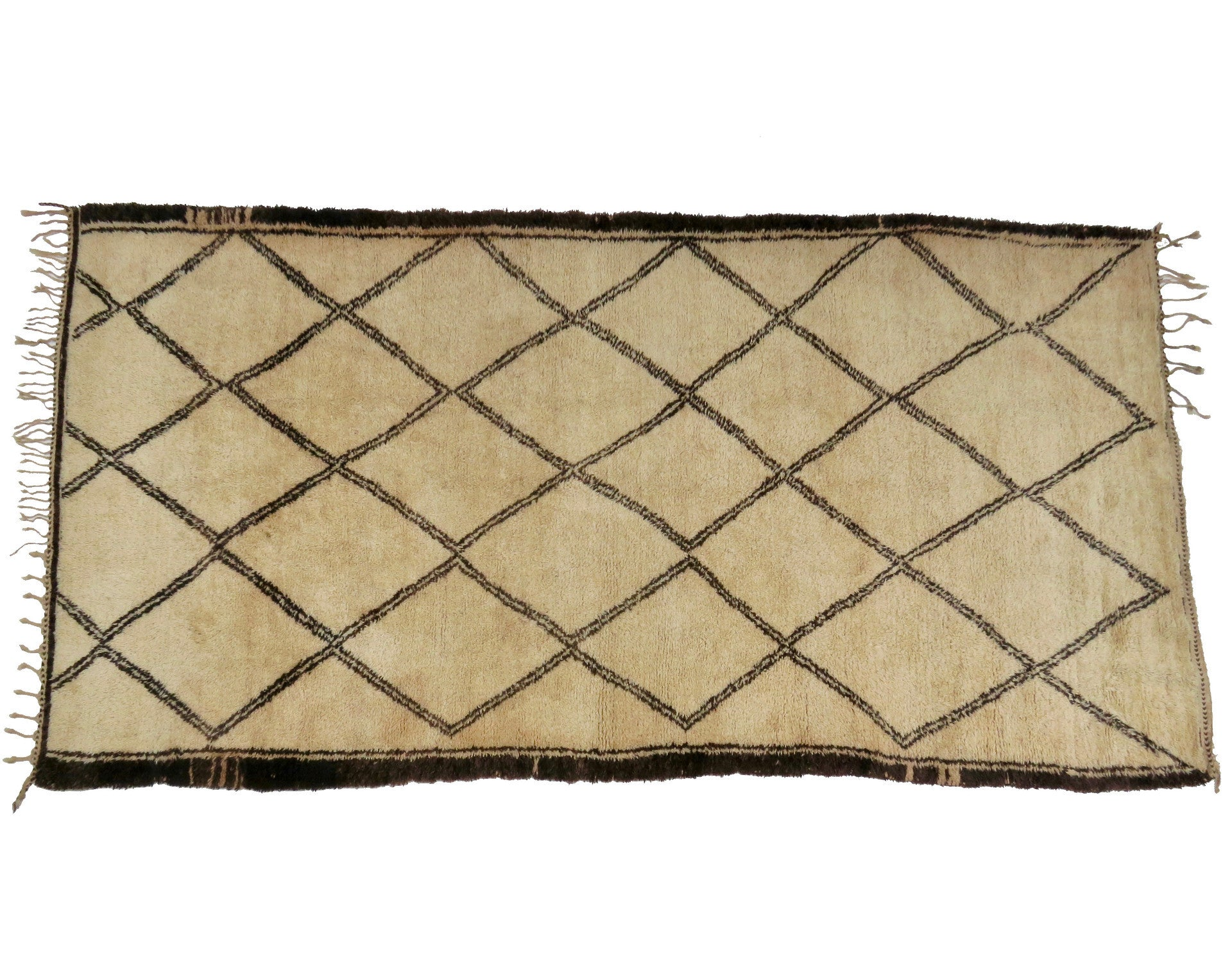 BIG BENI Vintage Moroccan Beni Ourain Rugs - Maven Collection