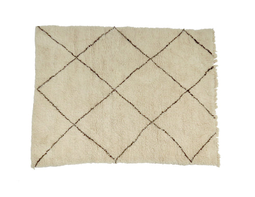 'Ellis' Moroccan Beni Ourain Rug - Maven Collection