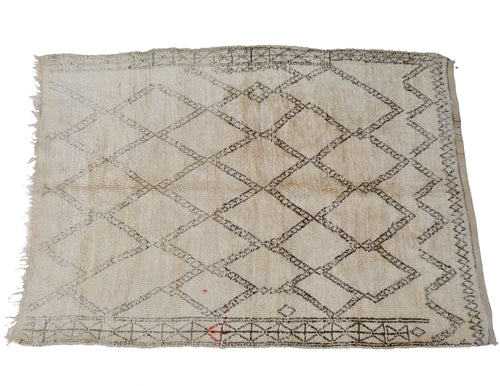 'Edith' Vintage Moroccan Beni Ourain Rugs