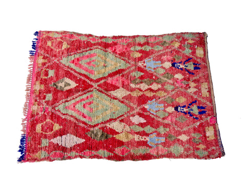 'Big Blue' Moroccan Sabra Rug