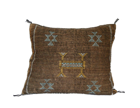 'This is me Trying'  Moroccan Sabra Silk Pillow