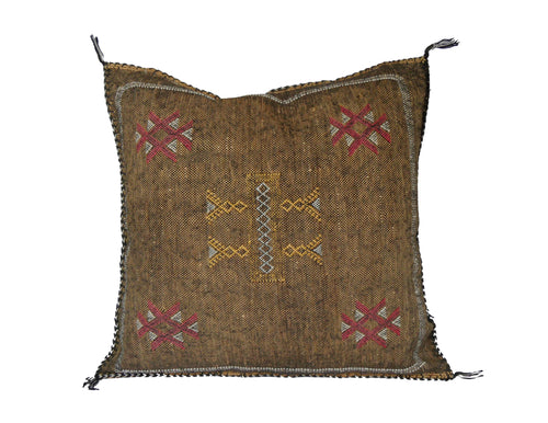 ' 'My Tears Ricochet'   Moroccan Sabra Silk Pillow