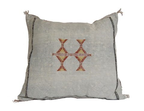'Summer Harvest'   Moroccan Sabra Silk Pillow