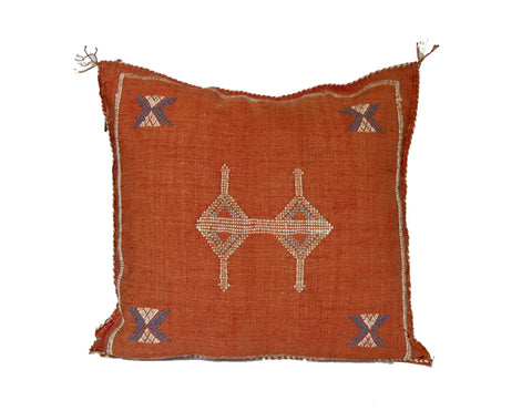 'Sailor' Lumbar Moroccan Woven Pillow