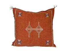 'Peace'   Moroccan Sabra Silk Pillow