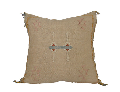 'Laura'  Moroccan Sabra Silk Pillow