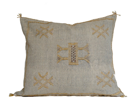 'Rose'  Moroccan Sabra Silk Pillow