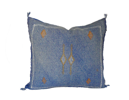 'Azuza' Moroccan Sabra Silk Pillow