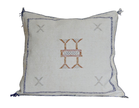 'Brown Bear' Moroccan Woven Pillow
