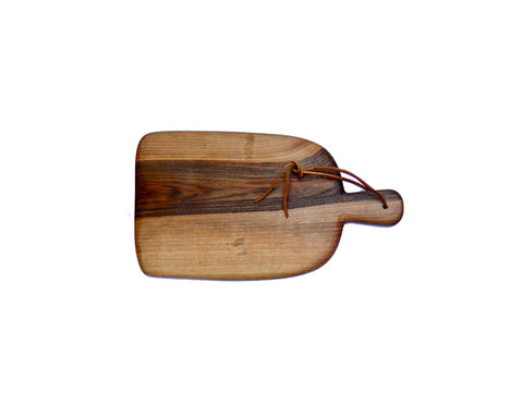 Paddle Walnut Bread Board