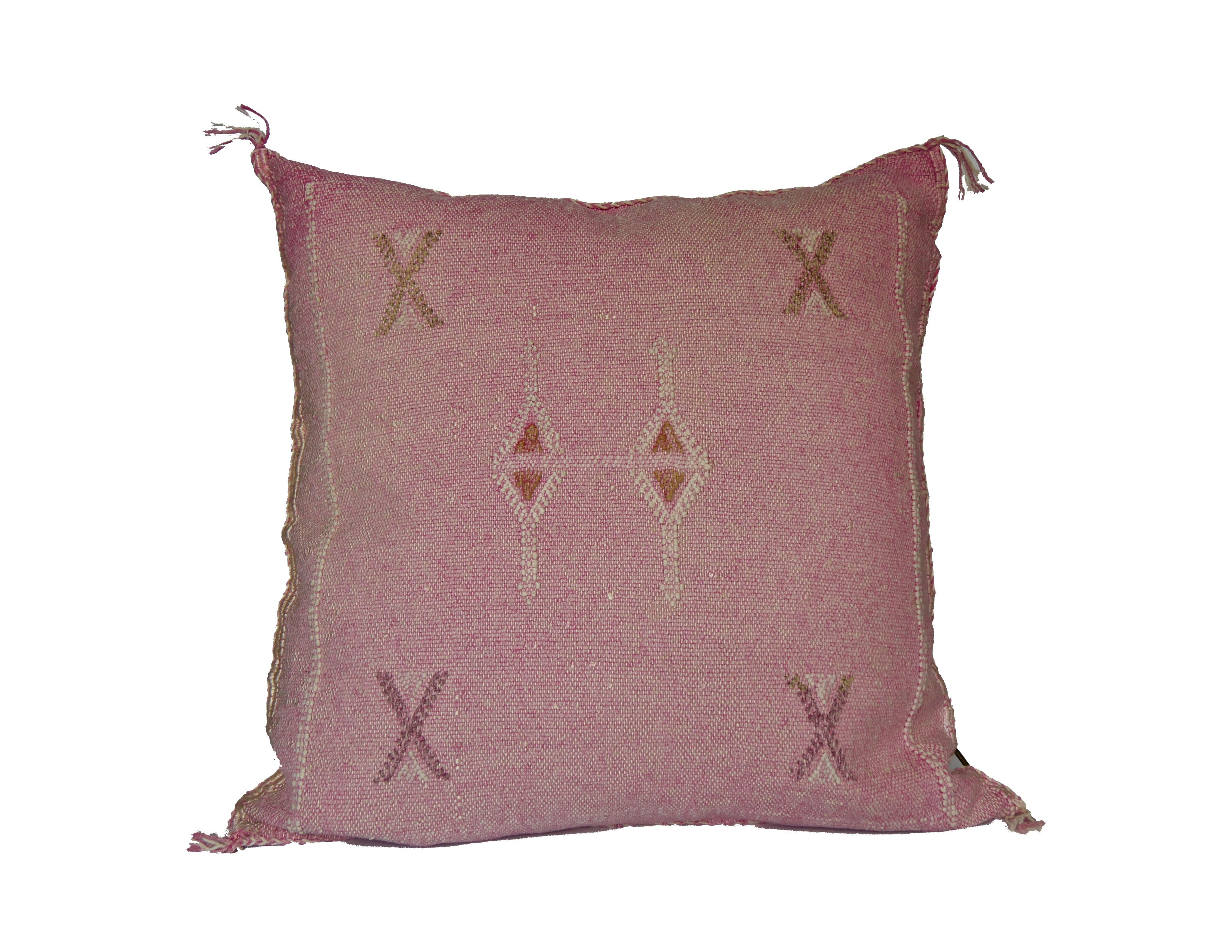 'The 1'  Moroccan Sabra Silk Pillow
