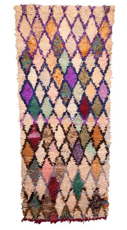'URBAN LATTICE'   BOUCHEROUITE RAG RUG - Maven Collection