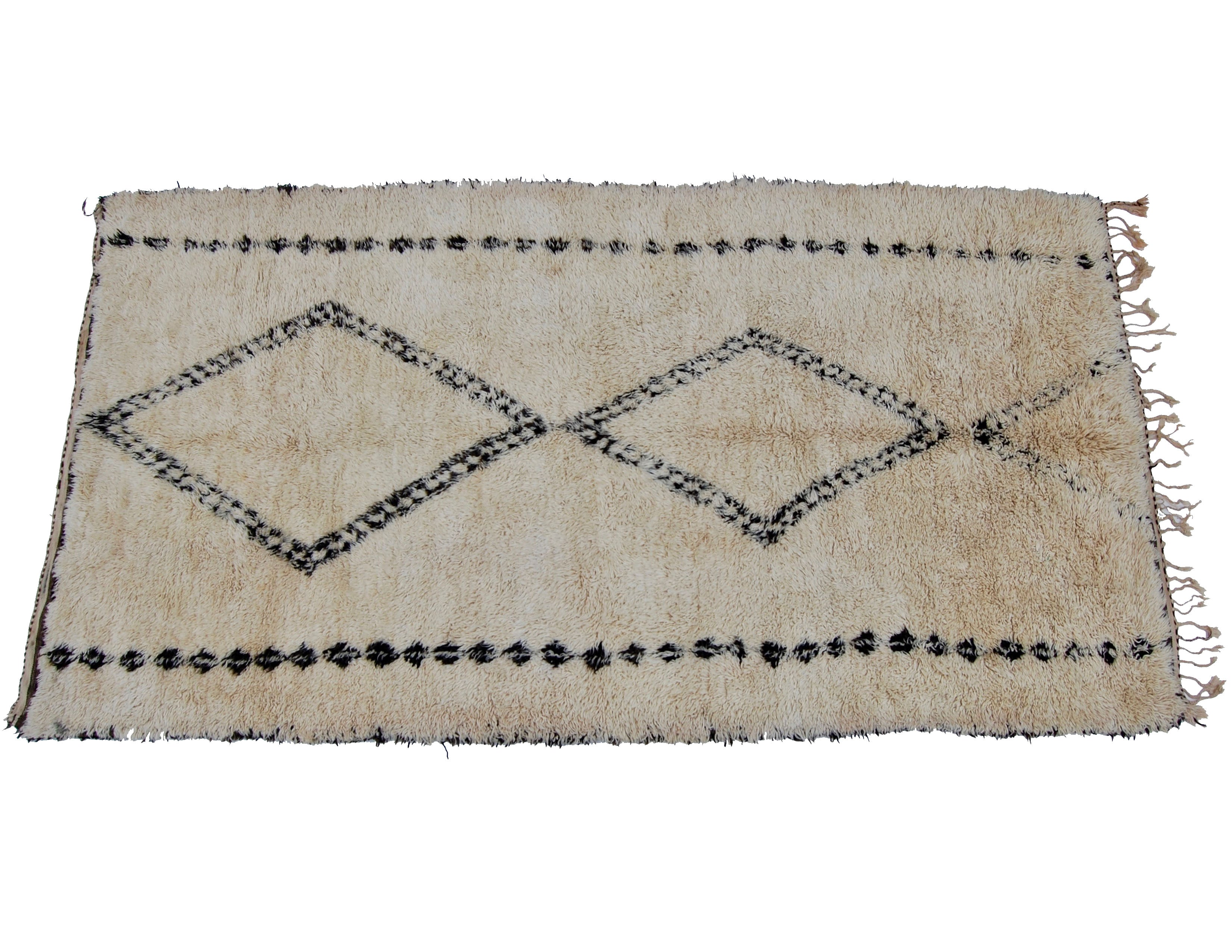 'That 70's Show'  Vintage Moroccan Beni Ourain Rugs