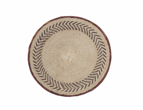 'Blue Diamond' Moroccan Woven Bread Basket