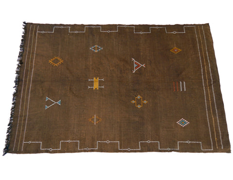 'Dusty Rose' Moroccan Azilal Rug