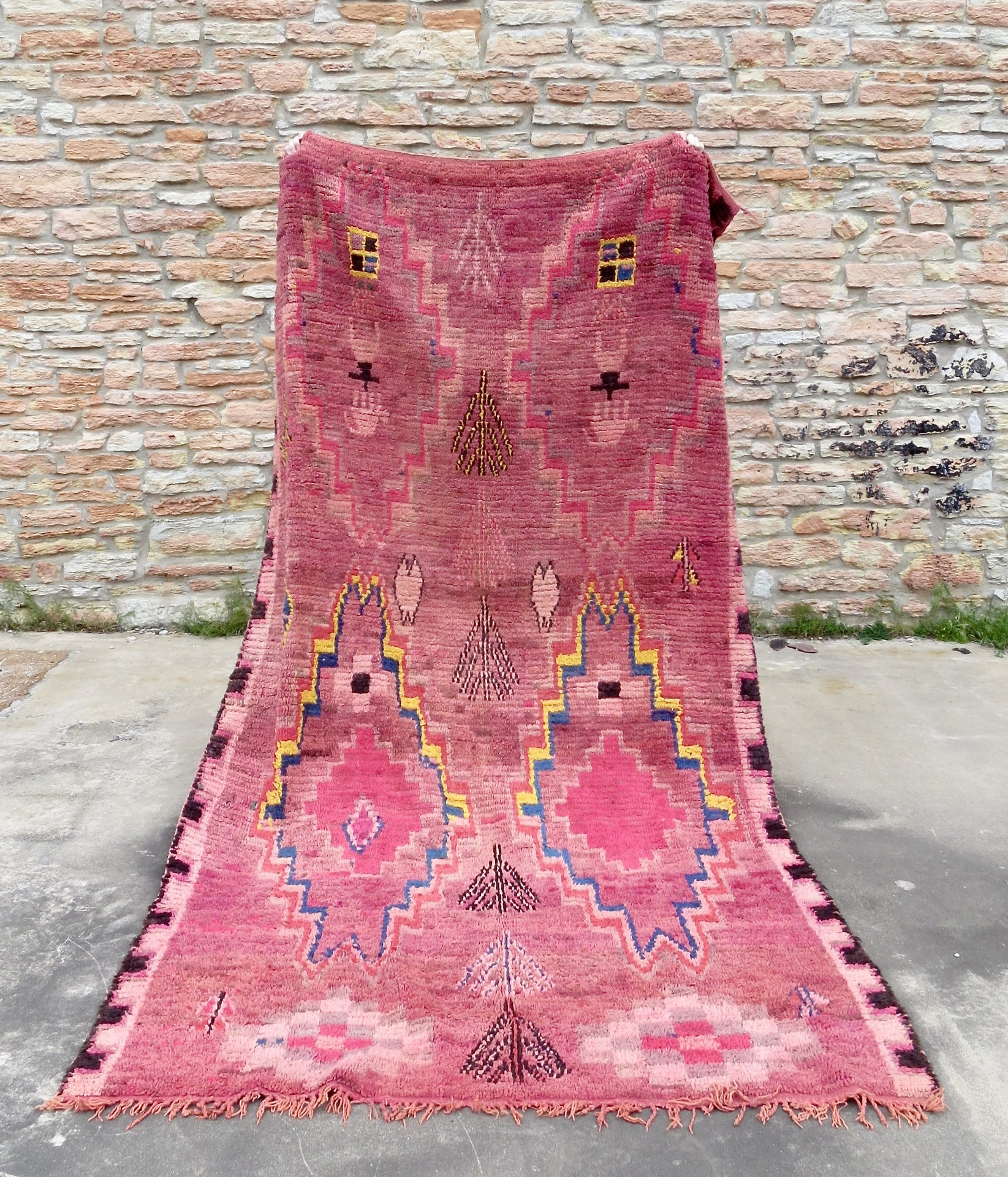 'Summer Sunset' Vintage Boujaad Rug - Maven Collection