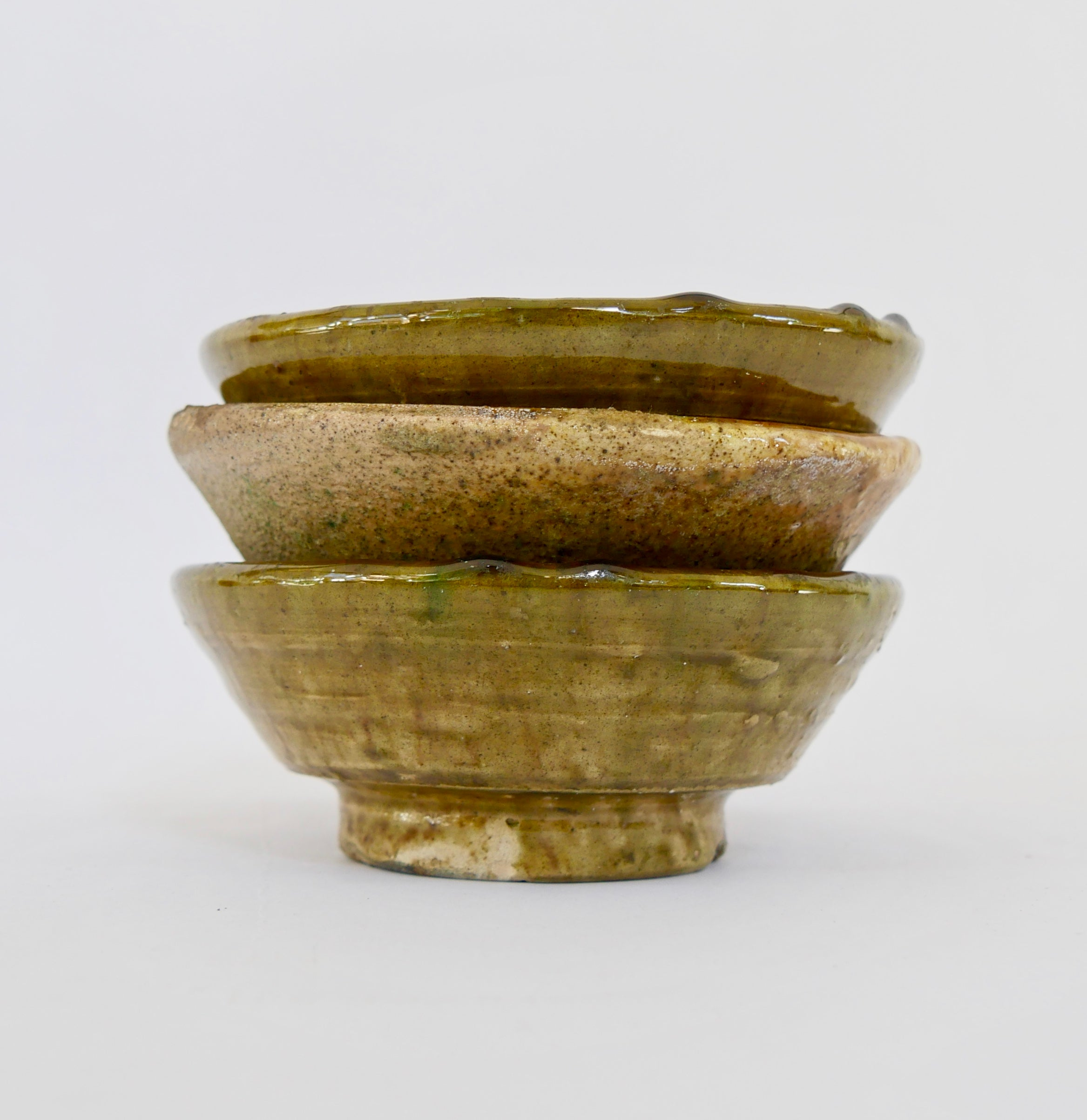 Golden Tamegroute Pottery - Small Bowl