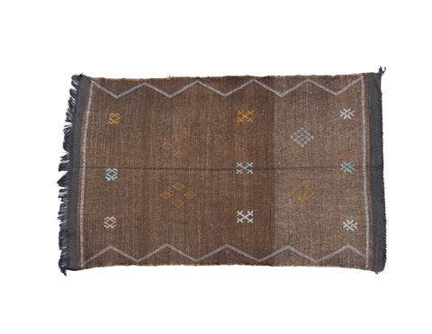 'Sea Side' Moroccan Sabra Rug