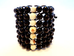 Energy Bracelet. Handmade of acai seeds.