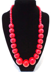 Dolce necklace. Tagua nut. 100% Sustainable accessories