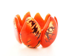 Butterfly Bracelet. Handmade w tagua nut. 100% organic & green accessories for women