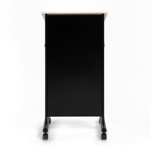 Magnetic Steel Black Front of our lectern