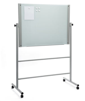 Free Standing Glass Dry Erase Board