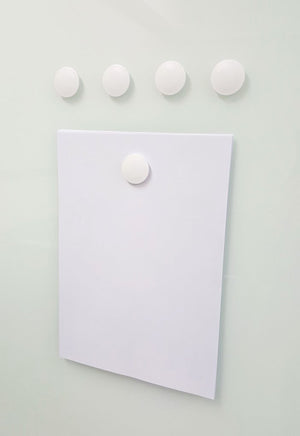 neodymium magnets on glass magnetic board