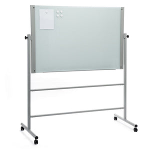 Mobile Stand For Our Magnetic Glass White Dry Erase Board Set