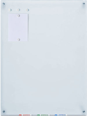 3' x 6' White Glass Dry Erase Board