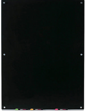 Vertical Black Dry Erase Board