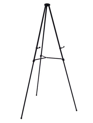 Black Free standing easel