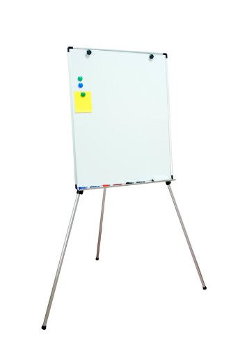 Free Standing Dry Erase Easel with Magnets and Magnetic Eraser